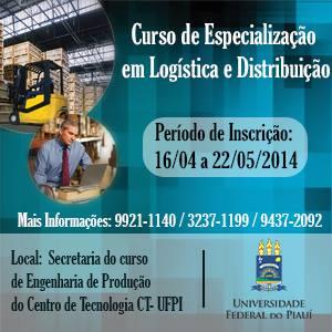 UFPI oferece Especialização em Logística e Distribuição