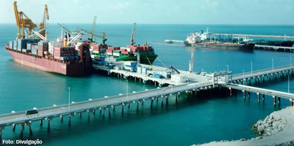 Porto do Pecém (CE) movimenta 7,6 milhões de toneladas de janeiro a novembro