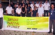 Sest Senat Caruaru (PE) comemora Semana Mundial da Saúde