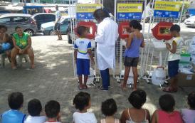 SEST-SENAT PARTICIPA DA PRIMEIRA AÇÃO SOCIAL DA FESTA DO MORRO