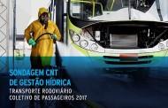CNT orienta sobre reaproveitamento de água na lavagem de ônibus